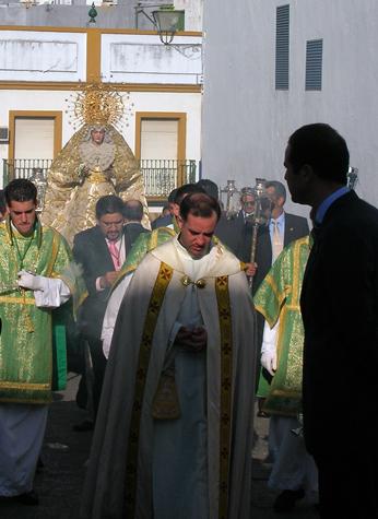 LA VIRGEN DE LAS ANGUSTIAS (Hdad. de Vera-Cruz)