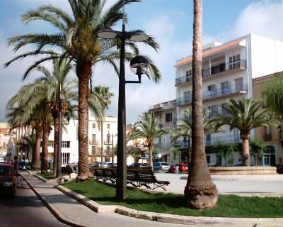 Plaza del coc for Sant carles de la rapita fotos