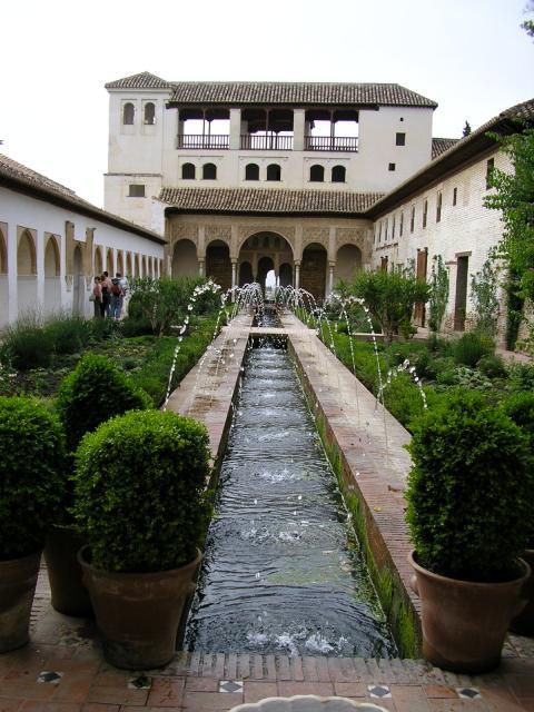 Un rato de arte jardines del generalife 1273 1302 for Jardines de gomerez granada
