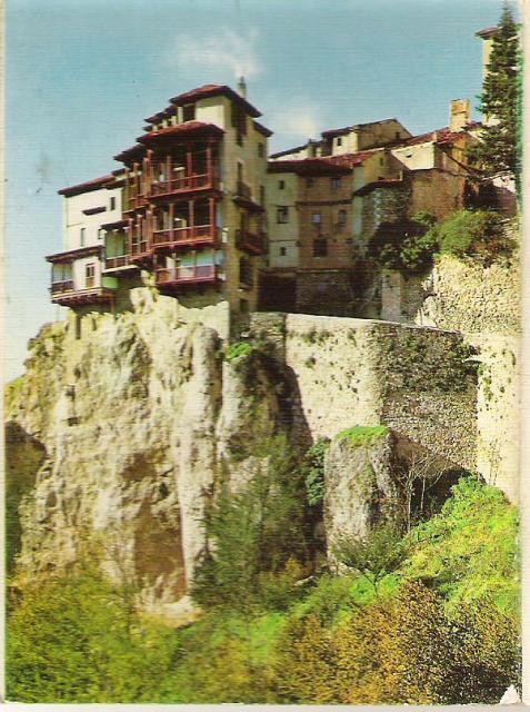 Casas colgadas en Cuenca 1975