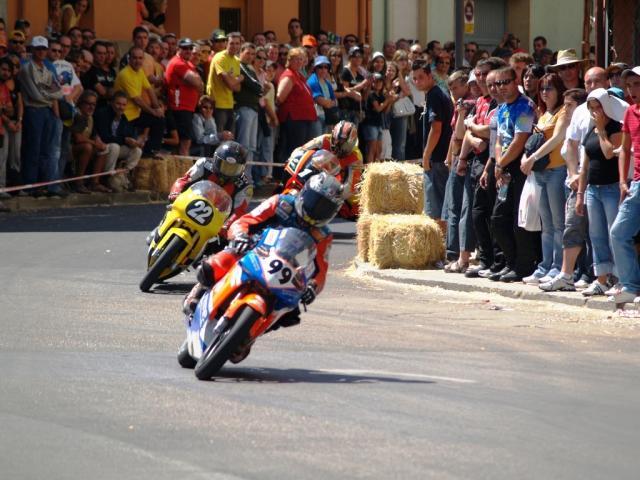 Circuito La Bañeza : Carrera de motos la baneza bañeza