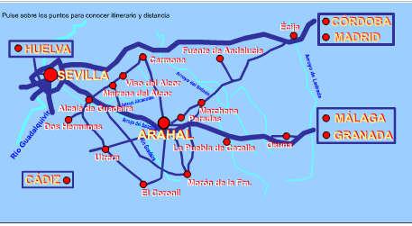 COMO LLEGAR ARAHAL 1
