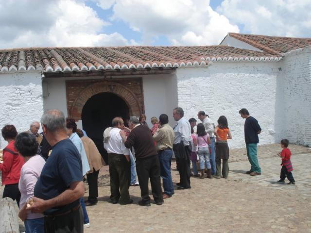 casado blanco salida cerca de Badajoz