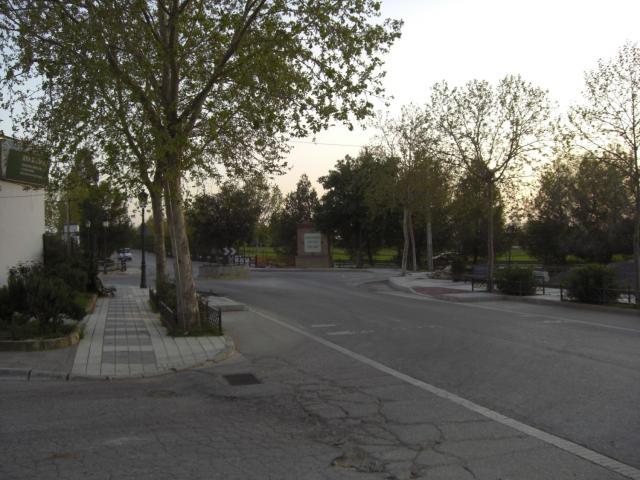 Rotonda entrada Pto. Serrano