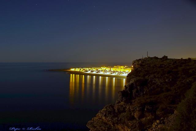 Noche rubia flaco en Granada