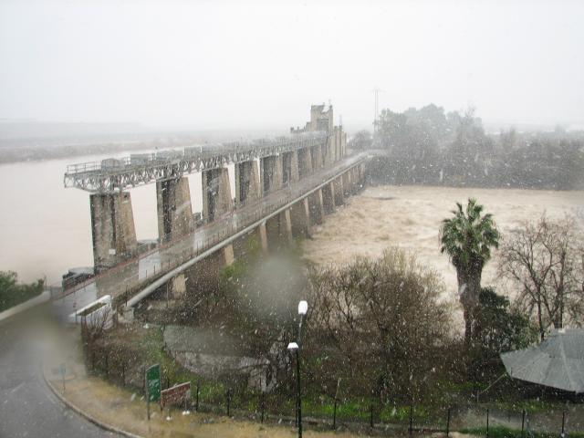 Alcala Del Rio Sevilla Nieve en Alcala Del Rio