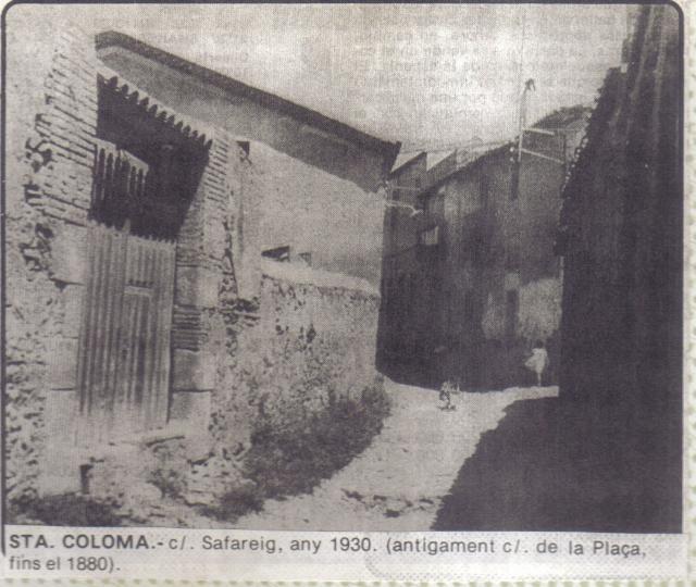 C safareig antigament c de la pla a fins el 1880 for Cerrajeros santa coloma de gramenet