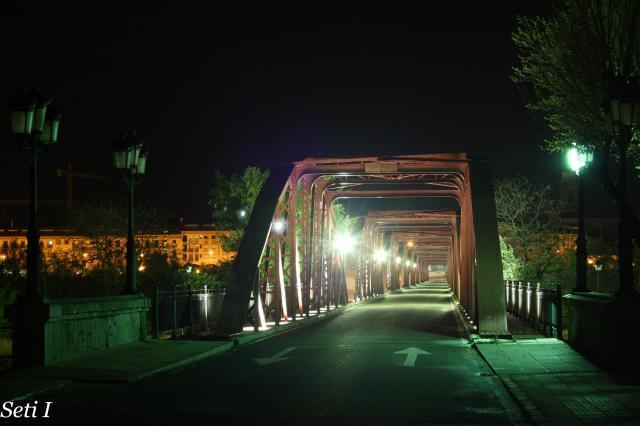 Puente de hierro de Talavera