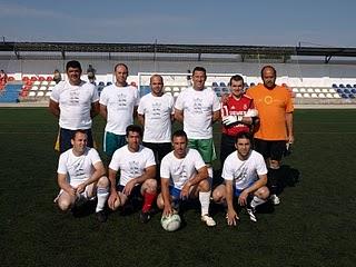Liga de veteranos futbol 7 2010 for Villanueva del rey