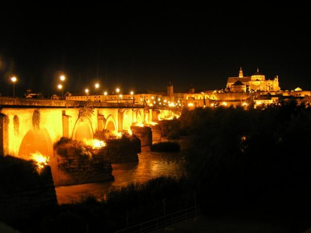 Noche fecha lechón cerca de Córdoba