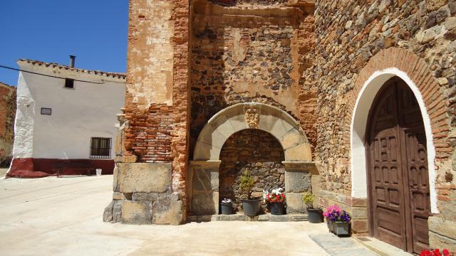 Arco de piedra de la casa del cura b denas - La casa del cura teruel ...