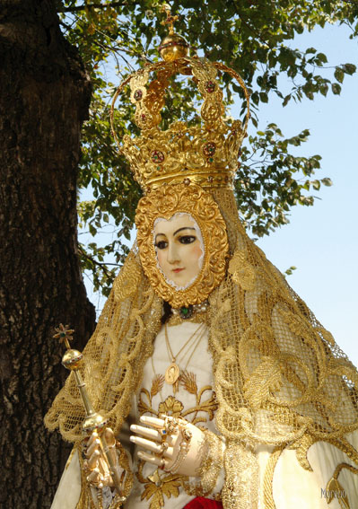 Virgen del campo for Canete de las torres