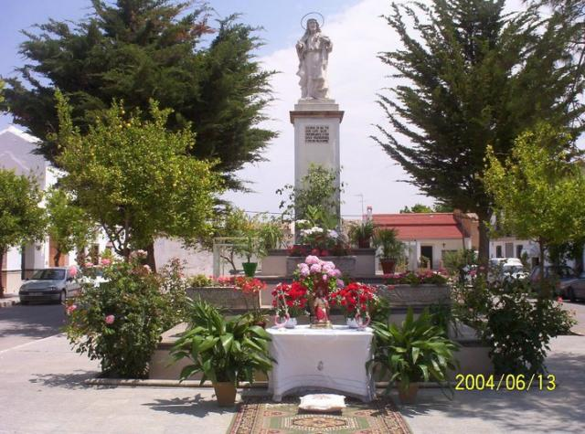 la plaza Espa�a