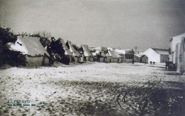 Aquella nevada - El tiempo el cuervo de sevilla ...
