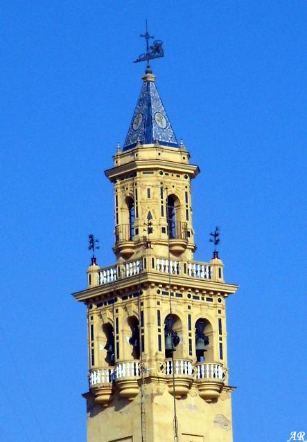 Campanario de la Iglesia de Santiago