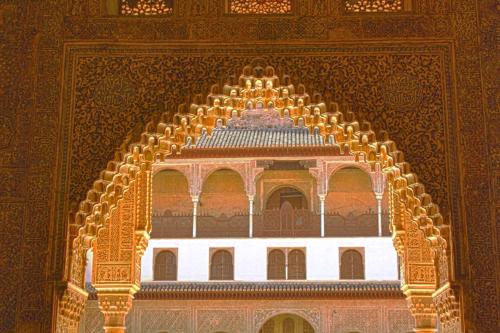 Palacio de comares detalles granada - Banos arabes palacio de comares ...