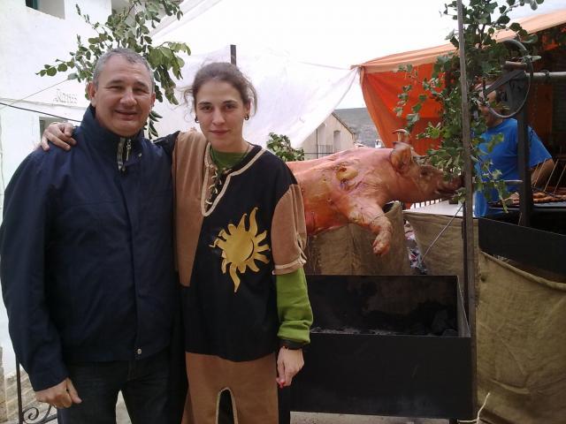 MERCADO MEDIEVAL EN ALBENTOSA 2011