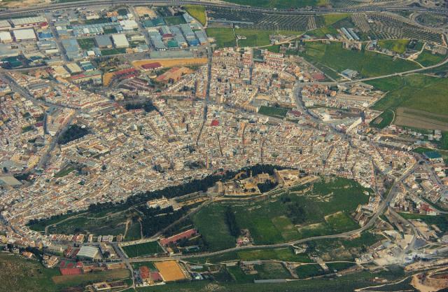 Estepa desde el aire estepa - Fotos estepa sevilla ...