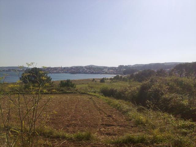 vista indo a praia da Corna