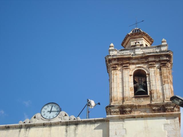 Campanario parroquial de torreblanca torreblanca - El tiempo torreblanca castellon ...