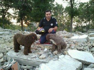 Unidad Canina de  rescate  Alpesa