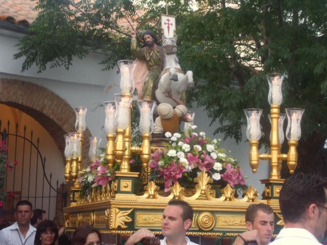 Santiago ap stol patr n de villanueva del rey villanueva for Villanueva del rey