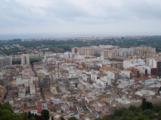 Oliva desde el castillo de santa ana - Inmobiliaria oliva valencia ...