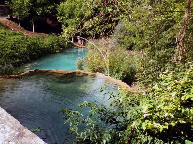 piscinas naturales en orbaneja orbaneja del castillo