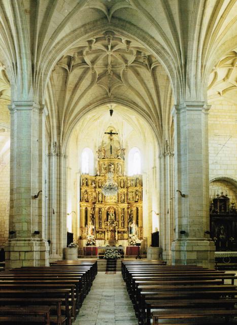 Interior iglesia de san nicol s - Foto foto interior ...