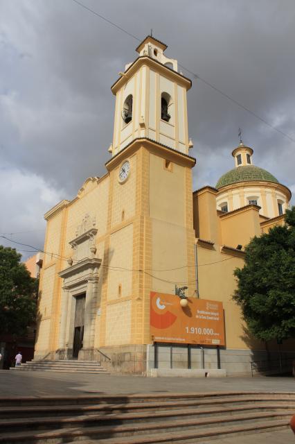 Iglesia san vicente ferrer - Temperatura en san vicente del raspeig ...