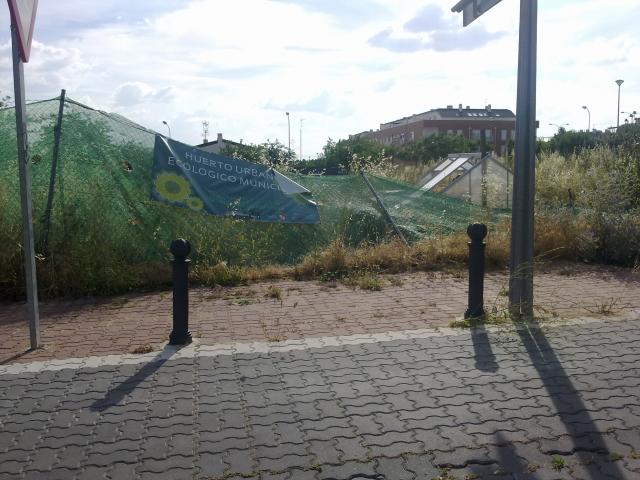 Huerto ecol gico municipal al estilo illescas for Piscina cubierta illescas