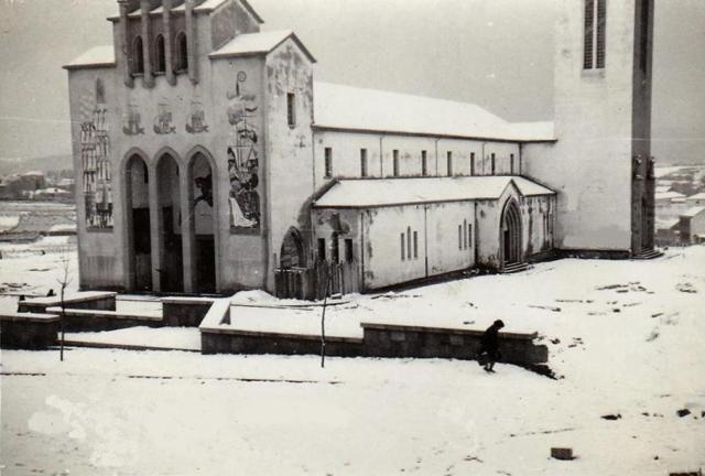 Ferrol - Iglesia del Pilar (Año 1956)