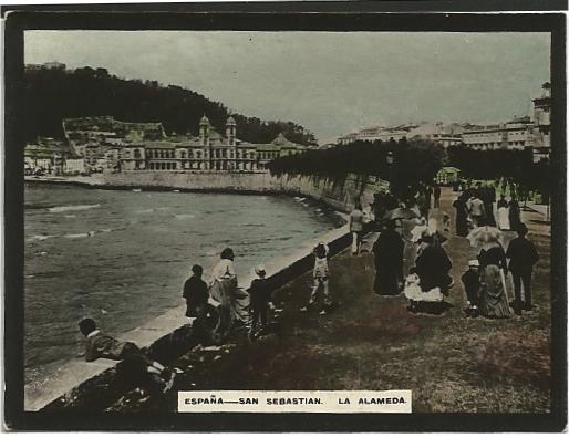Foto antigua - El tiempo para manana en san sebastian guipuzcoa ...