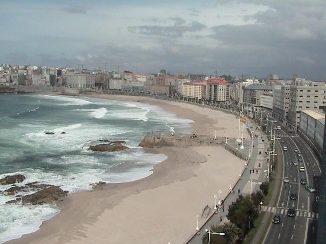 snapchat Español paseo cerca de La Coruña