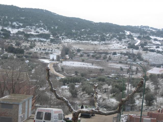 Nieve en san mart n de valdeiglesias san martn de for Piscina climatizada san martin de valdeiglesias