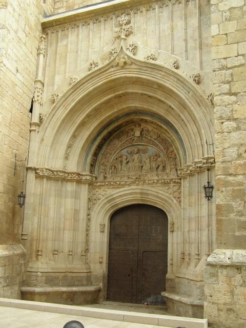 Puerta del Perdón de la Iglesia de la Colegial