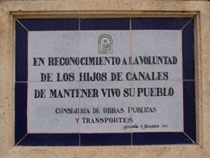placa calle zagal
