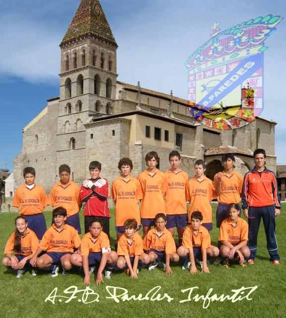 equipo de futbol infantil