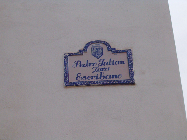 CALLE PEDRO JULIAN LARA
