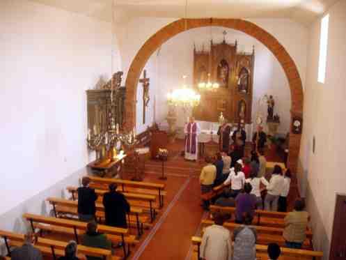 Vista Interior Iglesia Del Pueblo S Santa San Miguel De Escalada