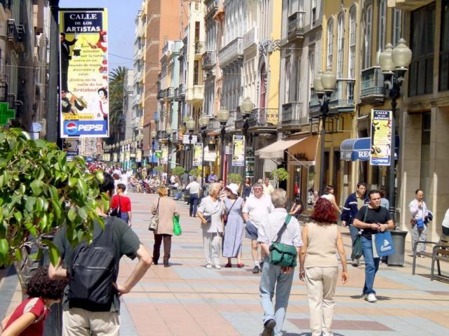 gran canaria calle triana: