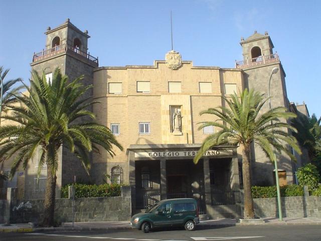Colegio teresiano en ciudad jardin las palmas de gran for Instituto ciudad jardin