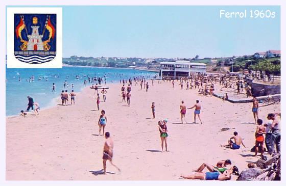 Antigua foto da praia de copacabana na malata - Paginas amarillas ferrol ...