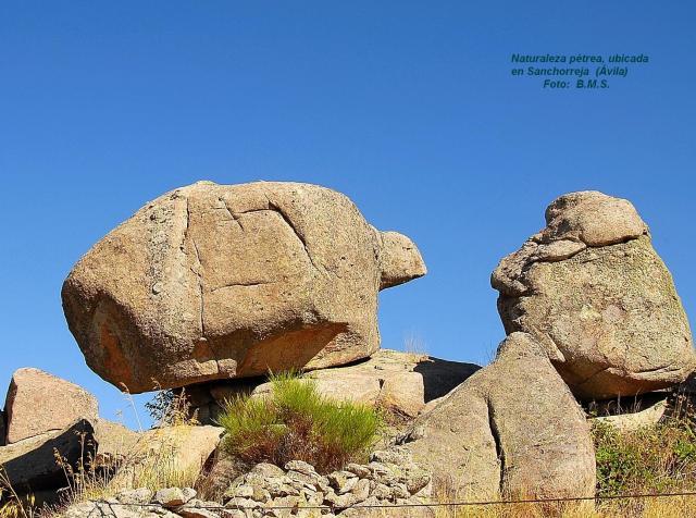 Piedra de granito en los conchos sanchorreja for Granito en piedra